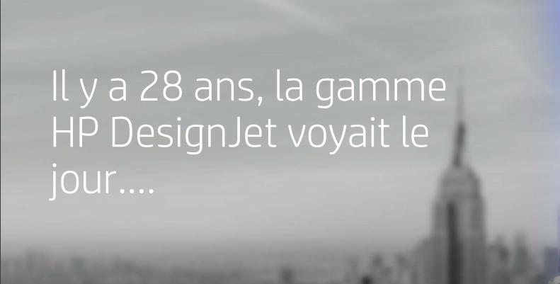 HP DesignJet 28 ans